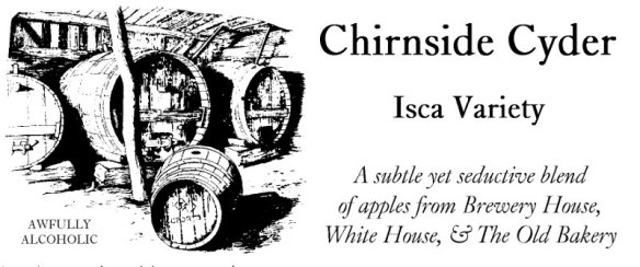One of my cider varieties