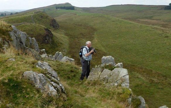 Mark Richards on Peel Crag