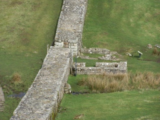 66. Was it possible to pass through Hadrian's Wall?