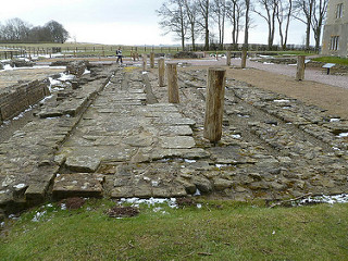 70. When was Hadrian's Wall abandoned?